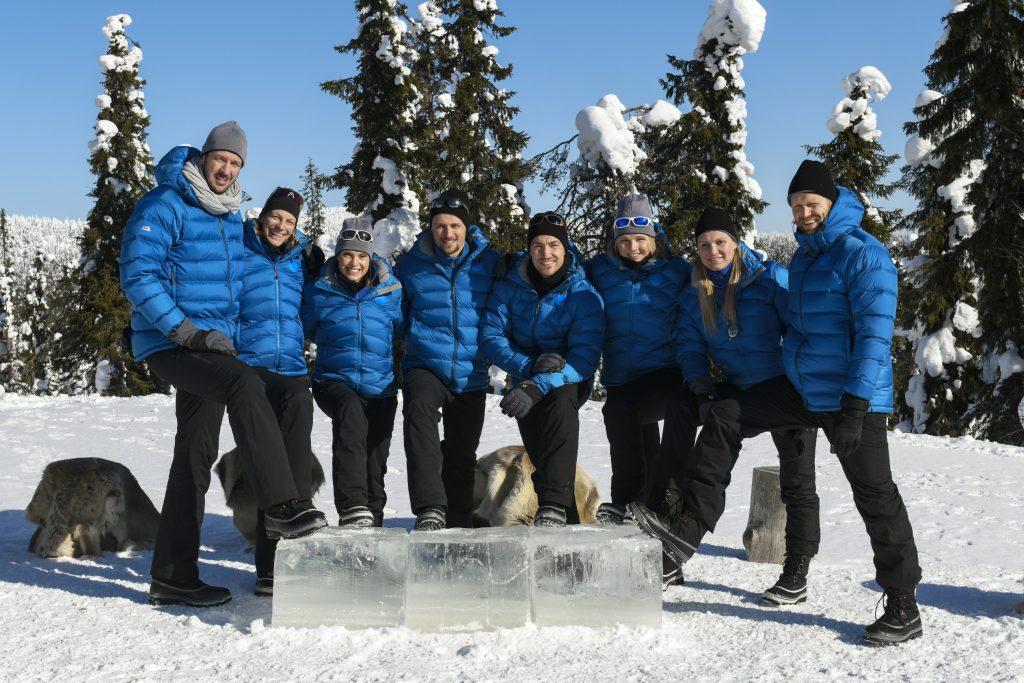V.l.: Pascal Hens, Jennifer Oeser, Evi Sachenbacher-Stehle, Sascha Klein, Philipp Boy, Hilde Greg, Magdalena Brzeska, Julius Brink