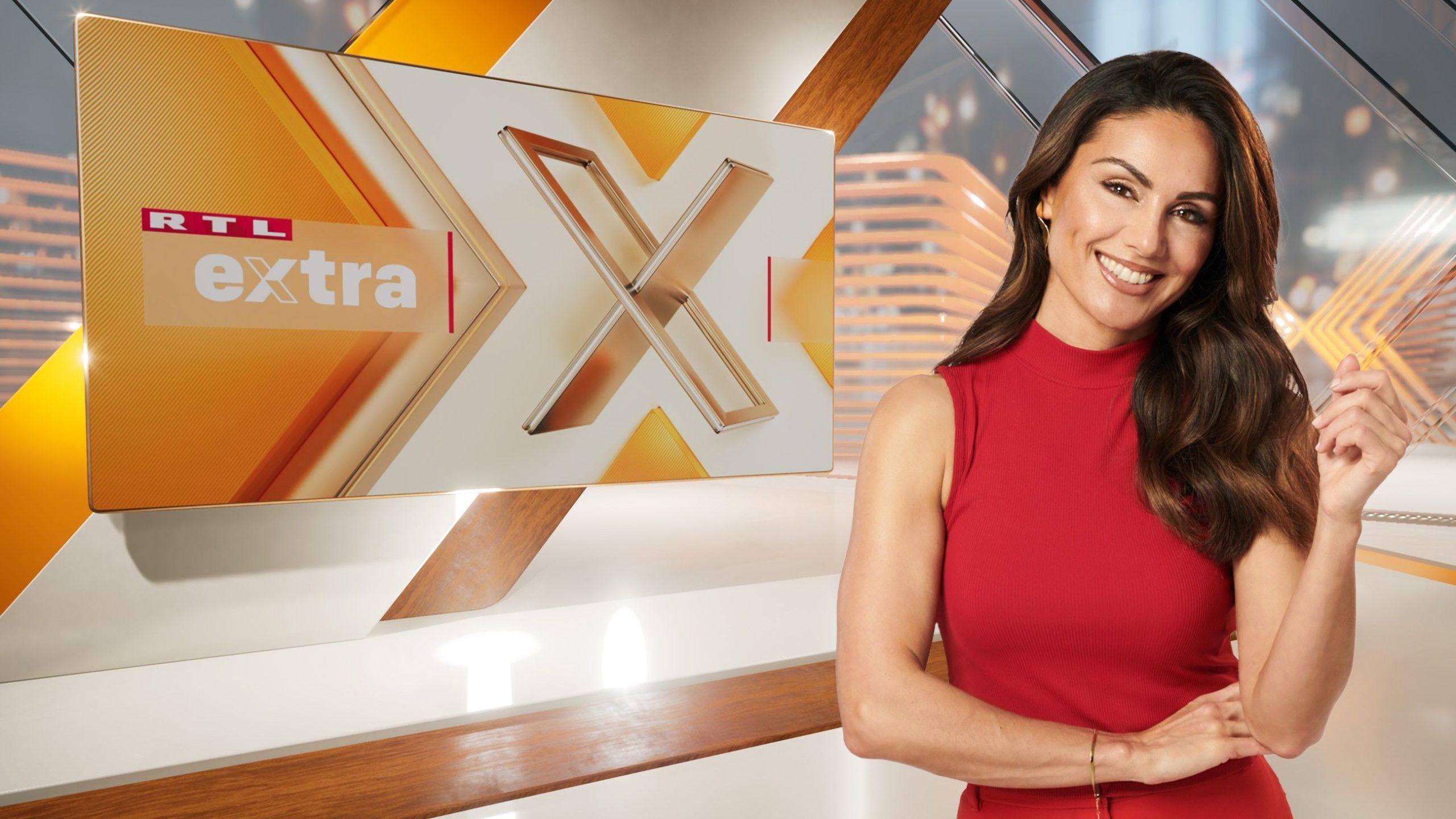Extra - Das RTL Magazin jeden Montag um 22:15 Uhr mit Nazan Eckes.