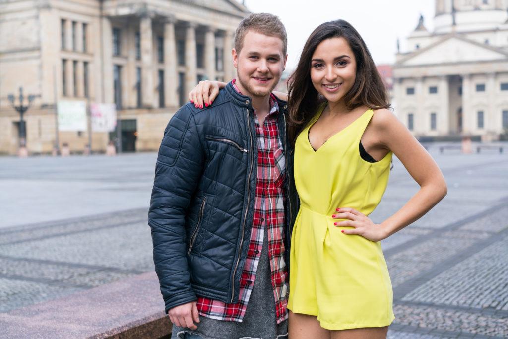 Felix van Deventer und Rona Özkan