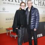 Die Mannschaft Premiere Berlin - Gerd Strehle mit seiner Ehefrau