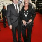 Die Mannschaft Premiere Berlin - Günter Netzer mit seiner Ehefrau