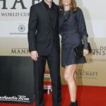 Die Mannschaft Premiere Berlin - Oliver Bierhoff mit seiner Ehefrau