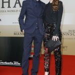 Die Mannschaft Premiere Berlin - Thomas Müller mit seiner Ehefrau