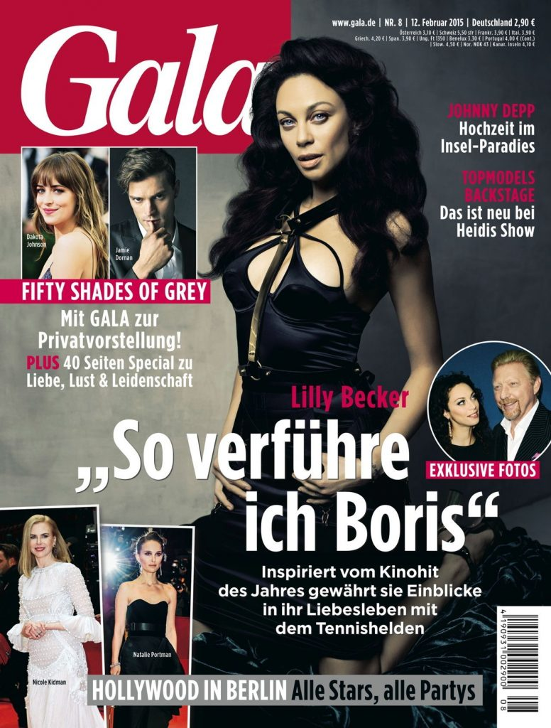 Lilly Becker im Interview mit dem People-Magazin GALA