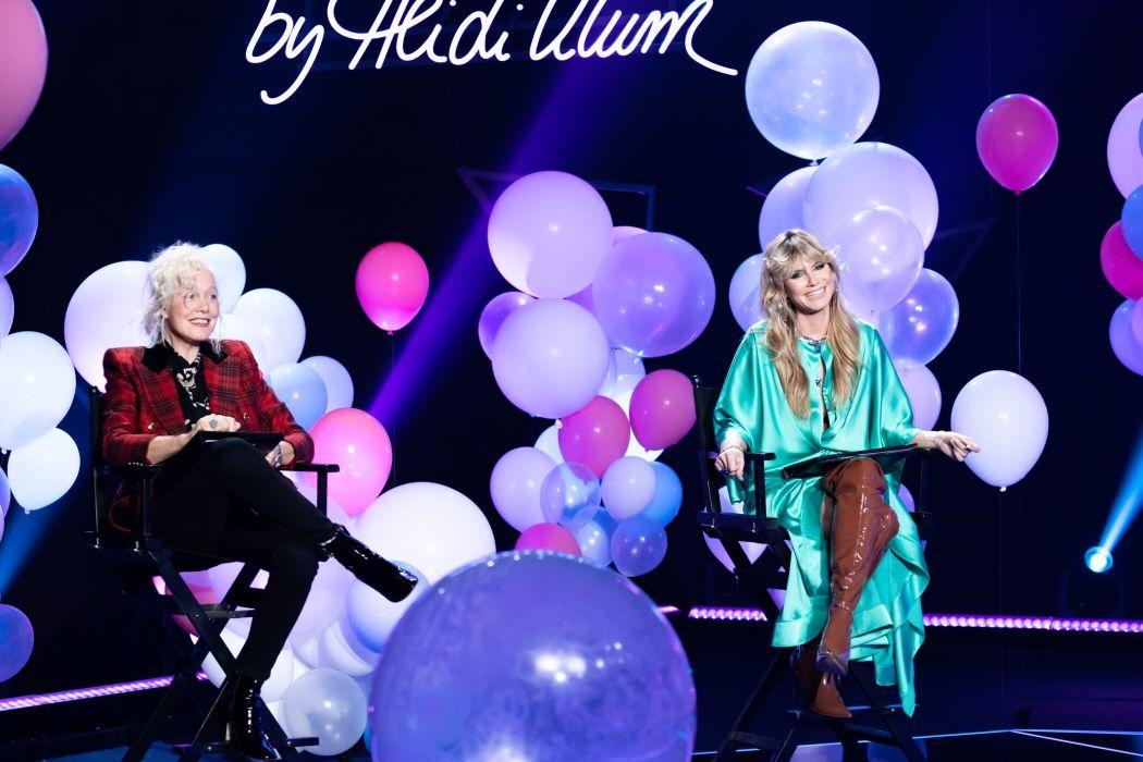 GNTM 2021 - Heidi Klum mit Ellen von Unwerth