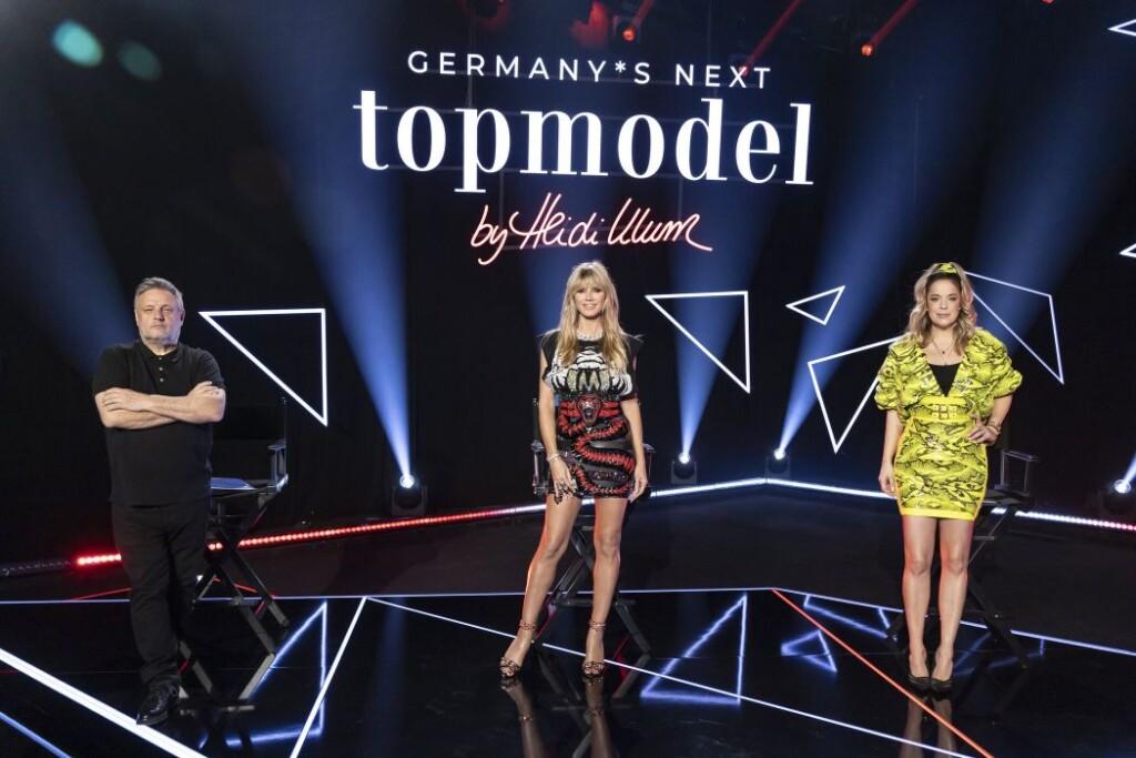 Starkes Trio: Heidi Klum holt sich Starfotograf Rankin und Designerin Marina Hoermanseder an ihre Seite