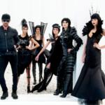 GNTM 2017 - Thomas Hayo, Serlina, Lynn, Maja, Sabine und Celine