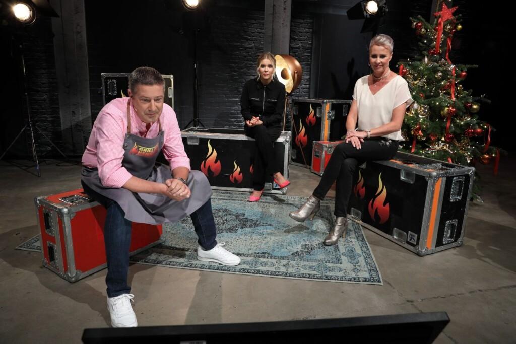 V.l.: Joachim Llambi, Laura Karasek, Sonja Zietlow