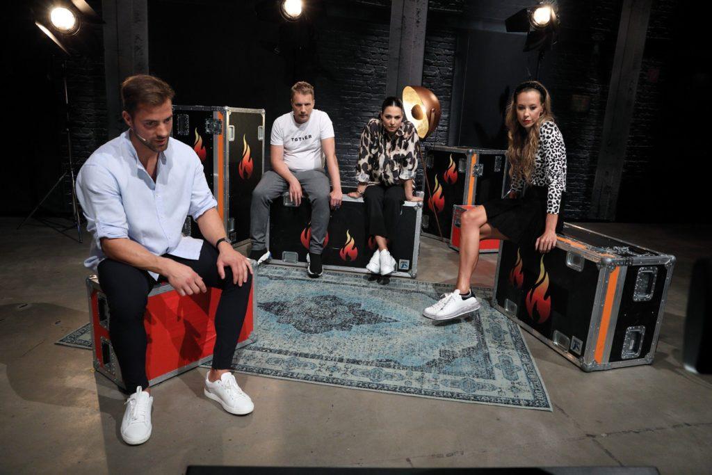 """""""Grill den Henssler"""" mit Tobias Wegener, Oli & Amira Pocher, Alessandra Meyer-Wölden."""