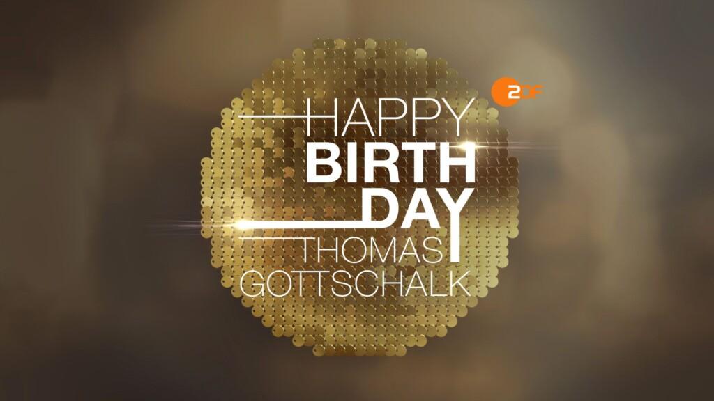 Zdf Gottschalk Geburtstag