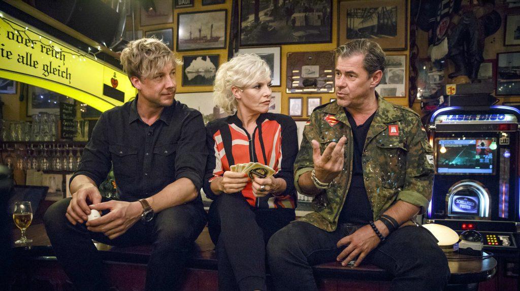 v.l.: Samu Haber, Ina Müller, Sven Martinek