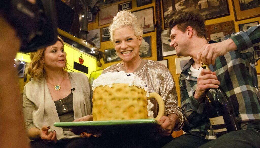 v.l.: Annette Frier, Ina Müller, Lutz van der Horst