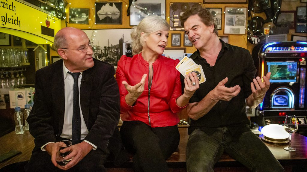 Gregor Gysi, Ina Müller und Campino.