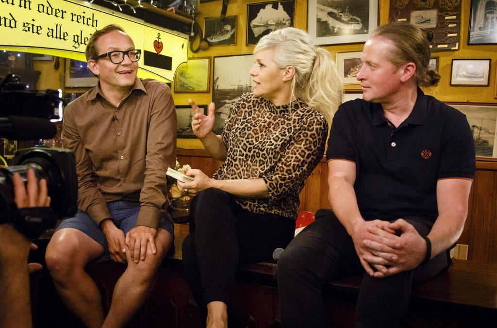 Wigald Boning, Ina Müller und Joey Kelly