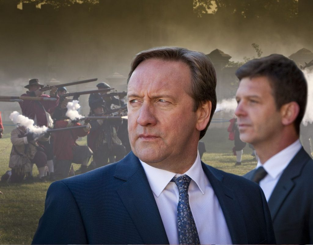 V.l.: DCI John Barnaby (Neil Dudgeon), DS Ben Jones (Jason Hughes)