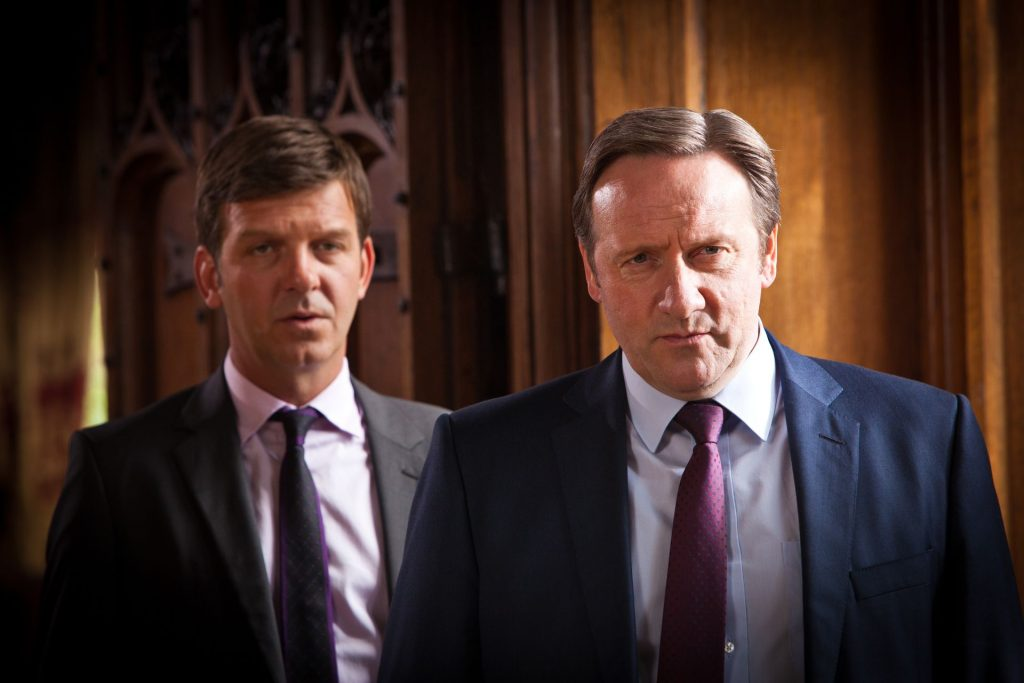 DS Ben Jones (Jason Hughes) und DCI Inspector Barnaby (Neil Dudgeon)
