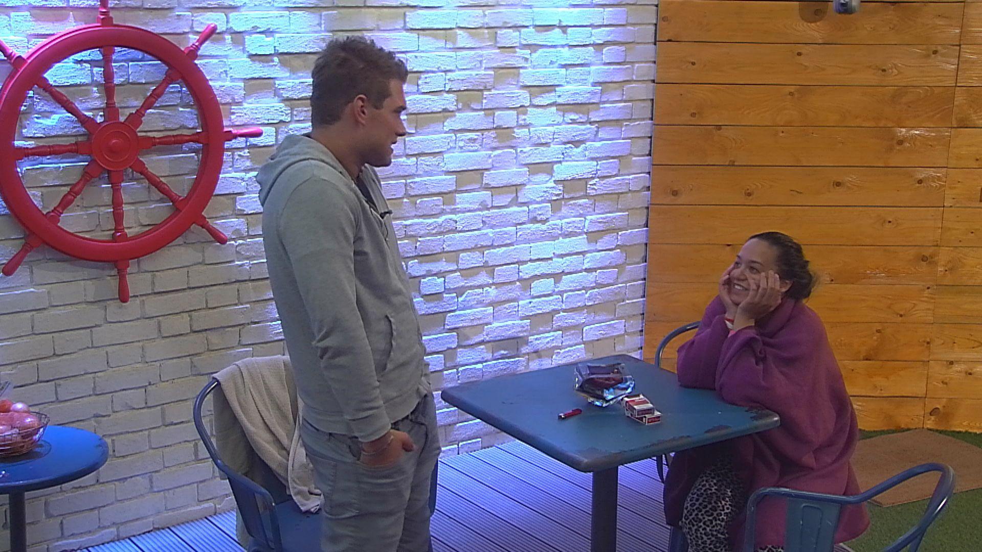 Big Brother Tag 16 - Maria und Kevin