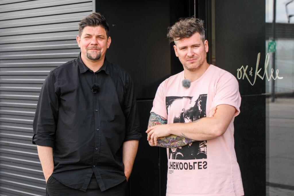 Tim Mälzer (l.) und Daniel Gottschlich.