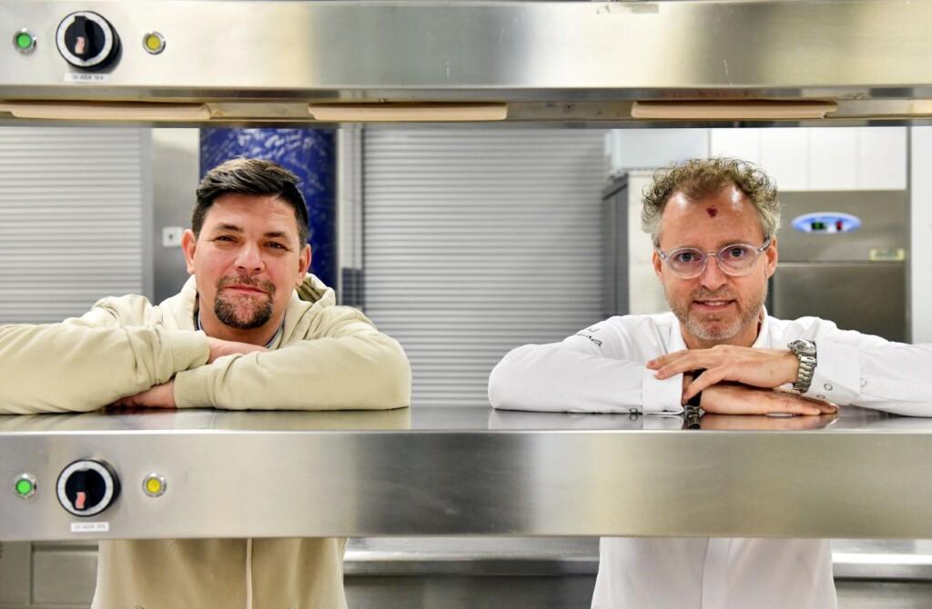 Kitchen Impossible - Tim Mälzer (l.) und Sven Elverfeld.