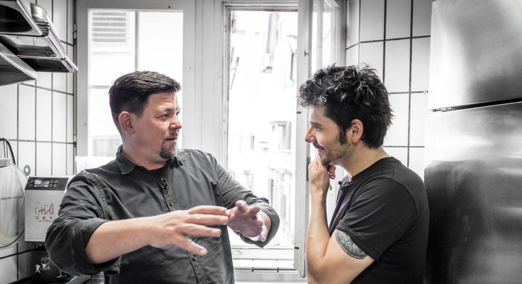 Tim Mälzer (l.) und Nenad Mlinarevic