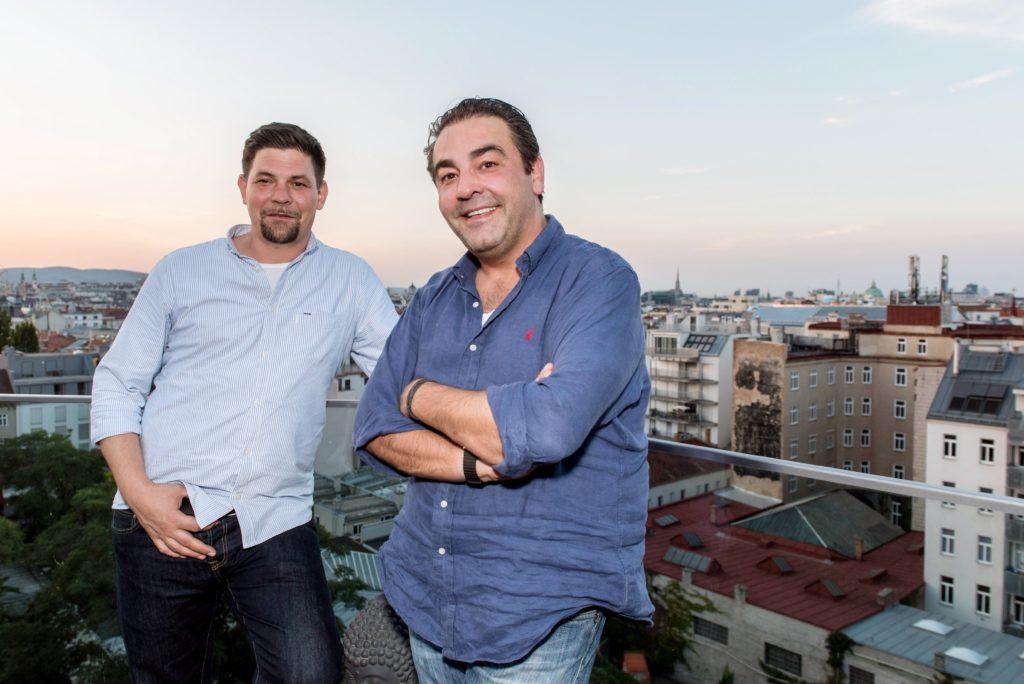 Tim Mälzer (l.) und Juan Amador