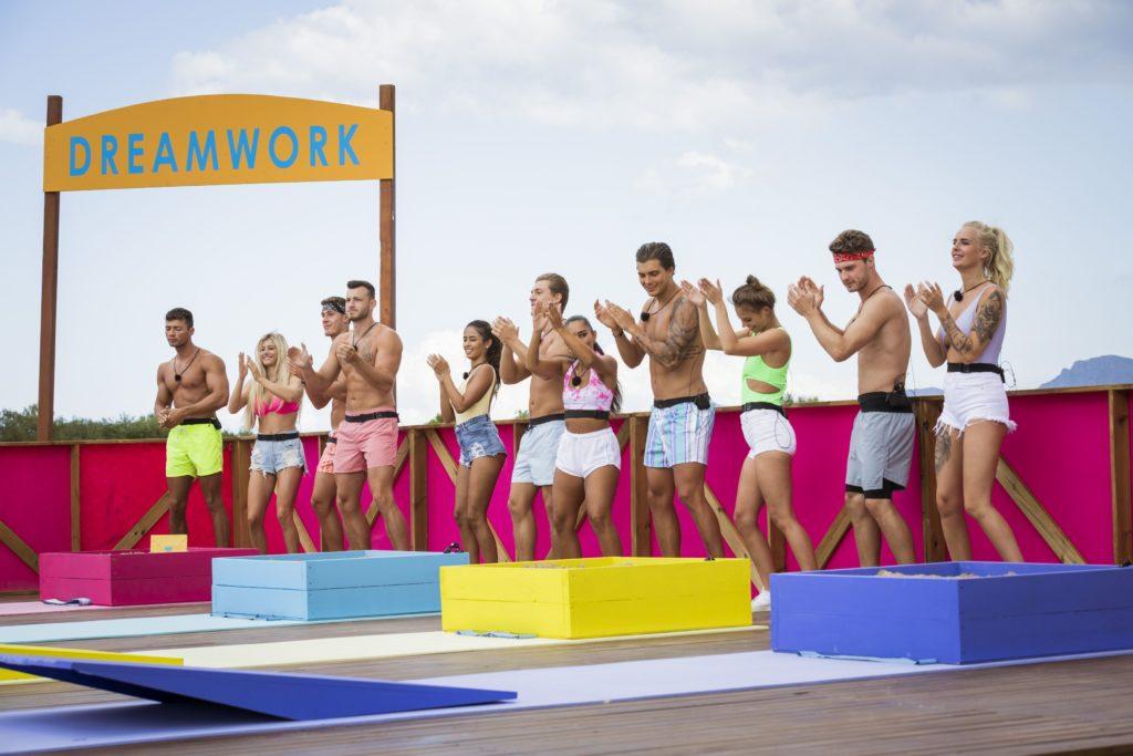 """Love Island 2020 Tag 10 - Die Islander bei der Challenge """"Dreamwork"""""""