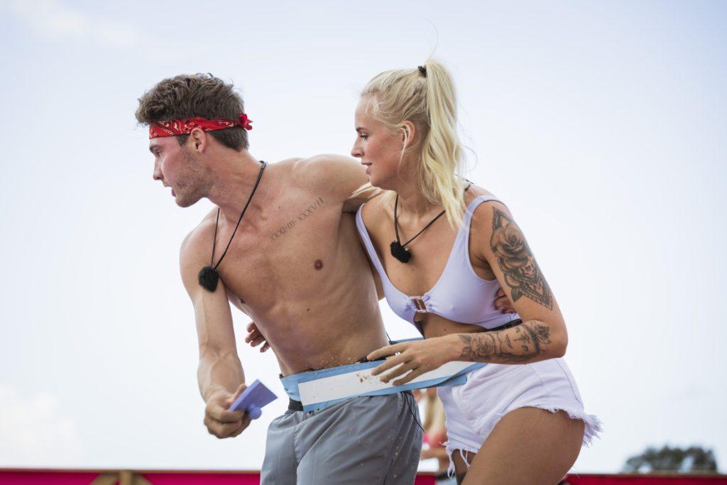 Love Island 2020 Tag 10 - Anna und Marc bei der Challenge