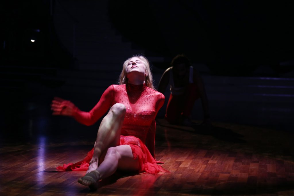 Larissa Marolt bei einem ihrer Tänze bei 'Let´s Dance'
