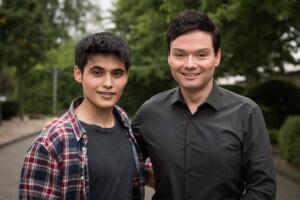 """Aaron Rufer als """"Jamal Bakkoush"""" in der ARD-Serie """"Lindenstraße""""."""