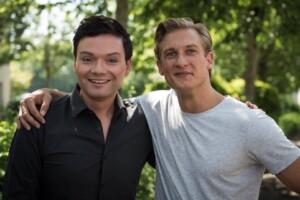 """Martin Walde als """"Marek / Sunny Zöllig"""" in der ARD-Serie """"Lindenstraße"""""""
