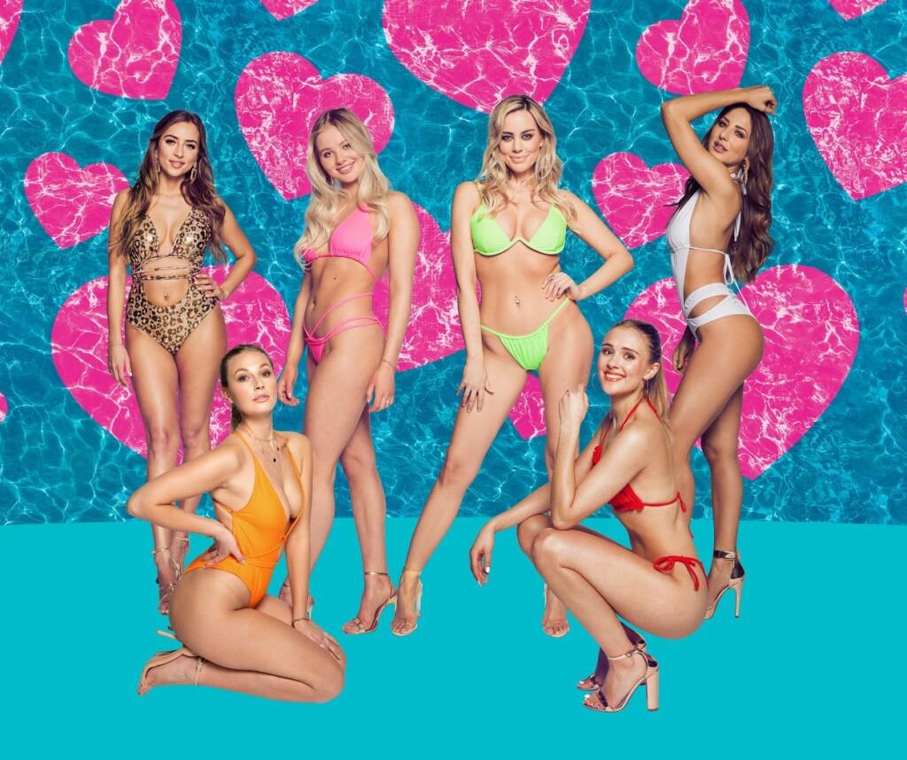 """Das sind die sechs weiblichen Islander zum Start von """"Love Island"""" bei RTLZWEI."""