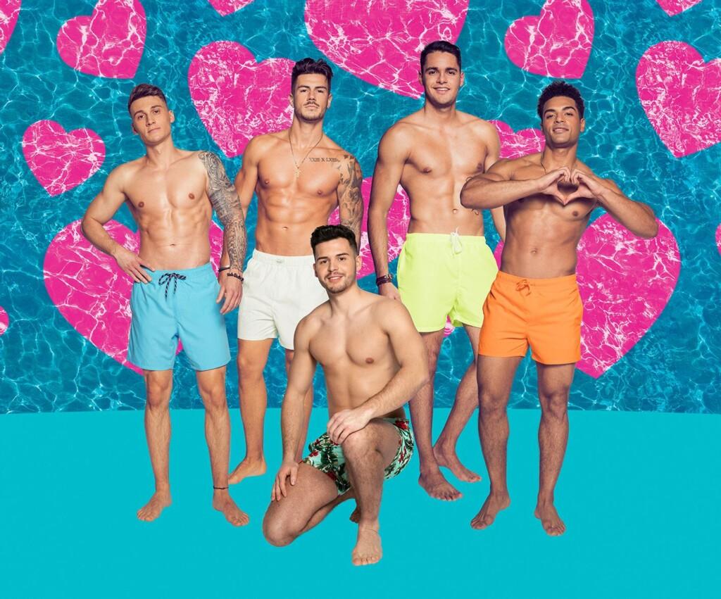 """Das sind die männlichen Kandidaten bei """"Love Island""""."""