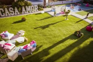 Love Island 2021 Casa Amor - Der Außenbereich