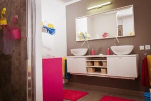 Love Island 2021 Casa Amor - Das Badezimmer