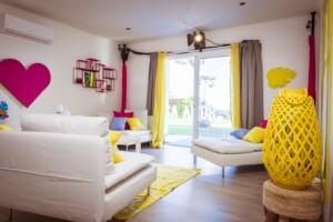 Love Island 2021 Casa Amor - Das Wohnzimmer
