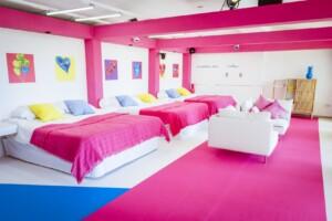 Love Island 2021 Casa Amor - Das Schlafzimmer