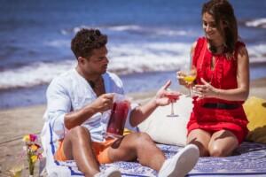 Love Island 2021 Tag 12 - Julia und Amadu genießen ihr Date