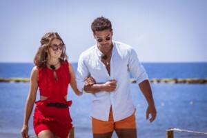 Love Island 2021 Tag 12 - Julia und Amadu bei ihrem Beach-Date