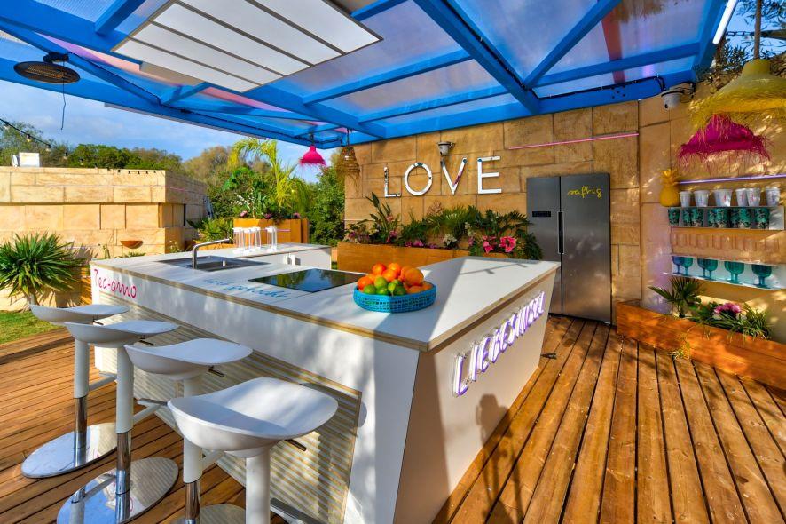 """Die Küche in der Villa von """"Love Island"""""""