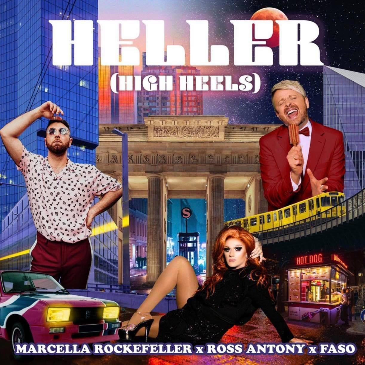 """Single """"Heller (High Heels)"""" von Marcella Rockefeller & Ross Antony & Faso"""