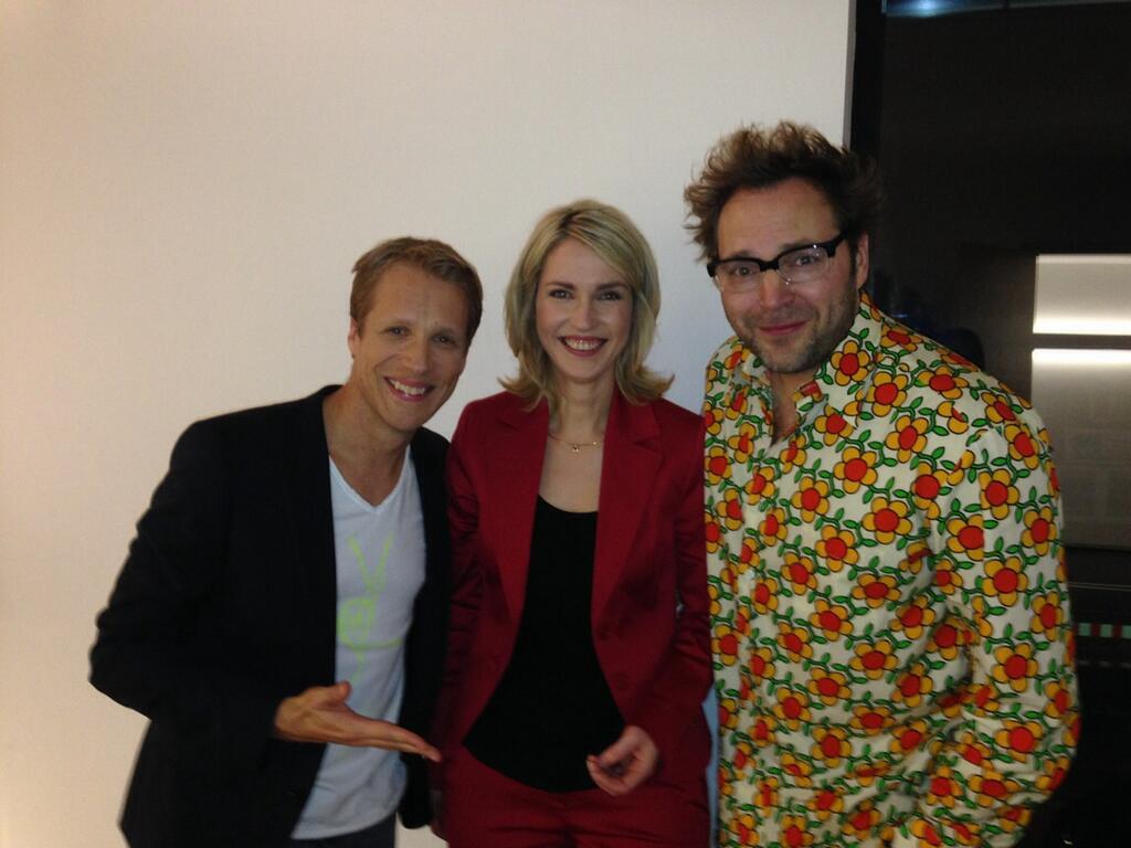 Oliver Pocher, Manuela Schwesig und Paul Panzer zu Gast bei Markus Lanz