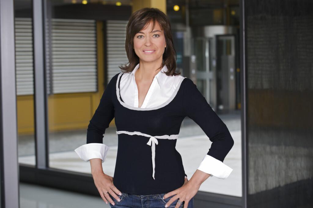 Maybrit Illner moderiert den gleichnamigen Polittalk im ZDF.