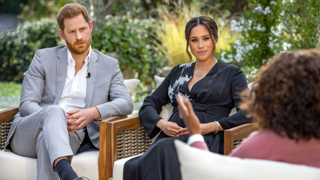 Prinz Harry und Meghan im Interview.