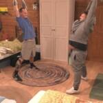 Big Brother 2020 - Denny beim ersten Workout mit Menowin