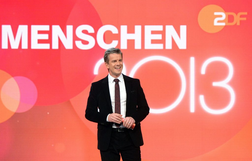 "Markus Lanz moderiert den ZDF-Jahresrückblick ""Menschen 2013"""