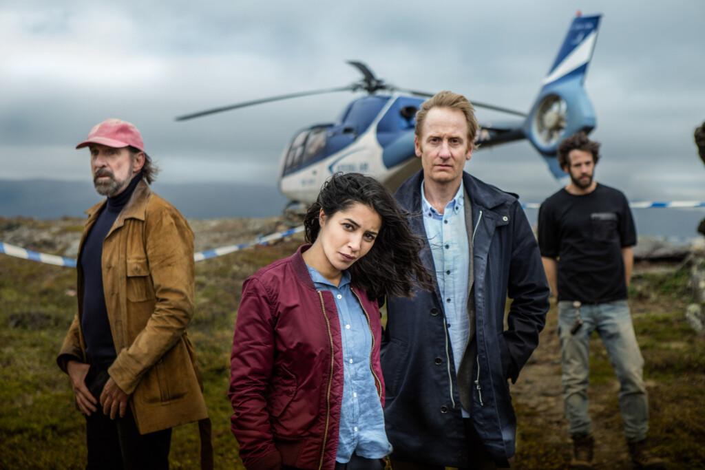 Burlin (Peter Stormare), Kahina Zadi (Leila Bekhti ), Anders Harnesk (Gustaf Hammarsten), Thor (Richard Ulfsäter).