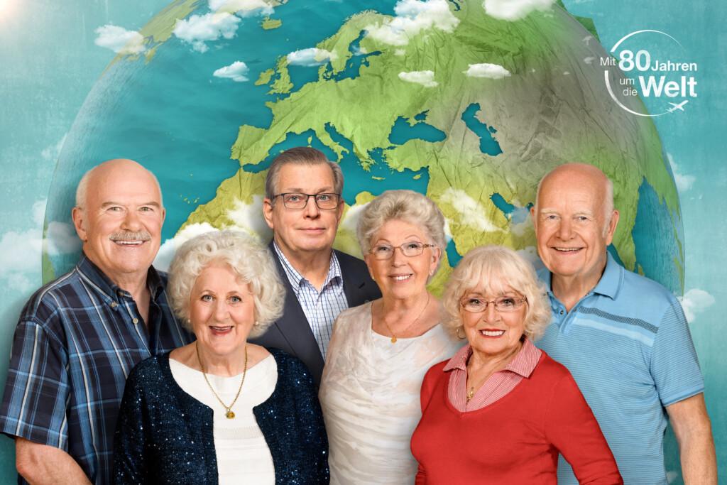 Bernd, Christina, Lothar, Marianne, Erika und Norbert begeben sich gemeinsam ins Abenteuer.