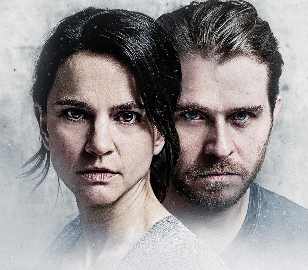 Die Psychologin Inger Johanne Vik (Melinda Kinnaman, l.) und der Kommissar Ingvar Nyman (Henrik Norlén, r.) werden ein Ermittler-Paar.