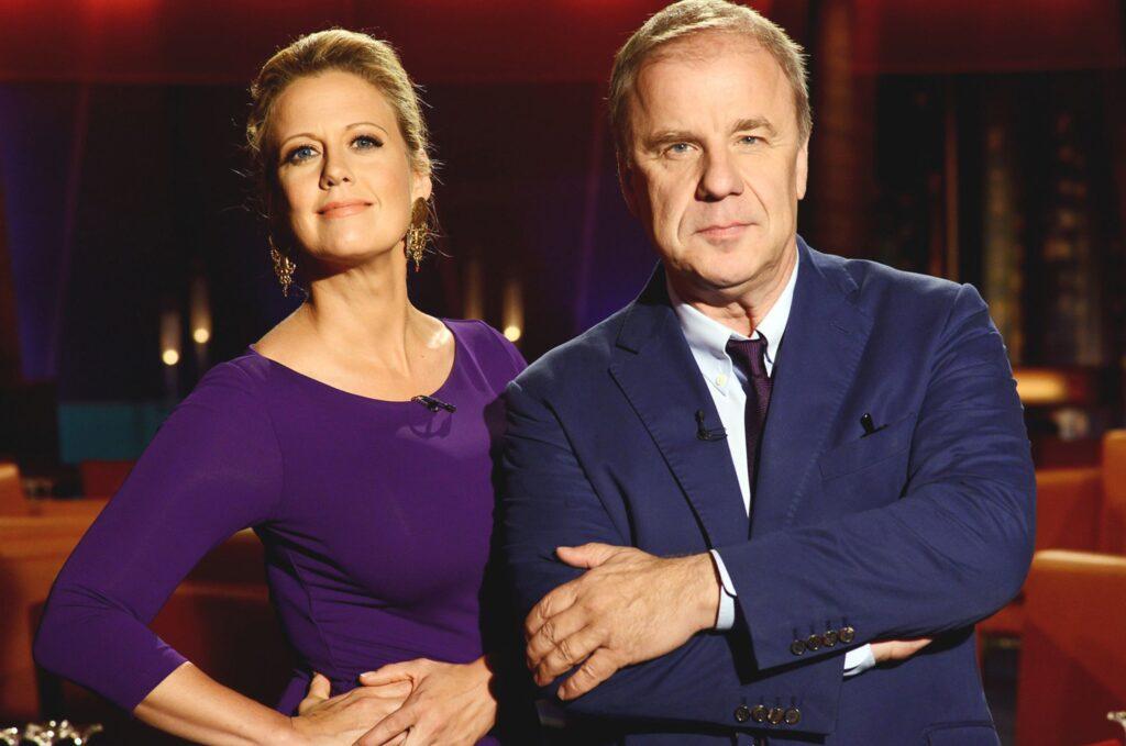 Barbara Schöneberger und Hubertus Meyer-Burckhardt sind die Gastgeber der NDR Talk Show.