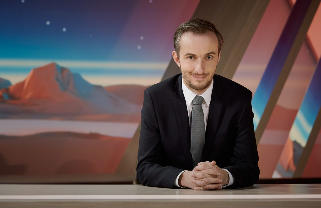 """Neo Magazin Royale""-Moderator Jan Böhmermann."